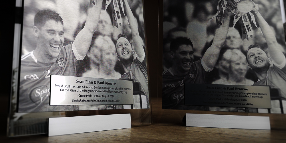 Custom Award Plaques for Sports Clubs