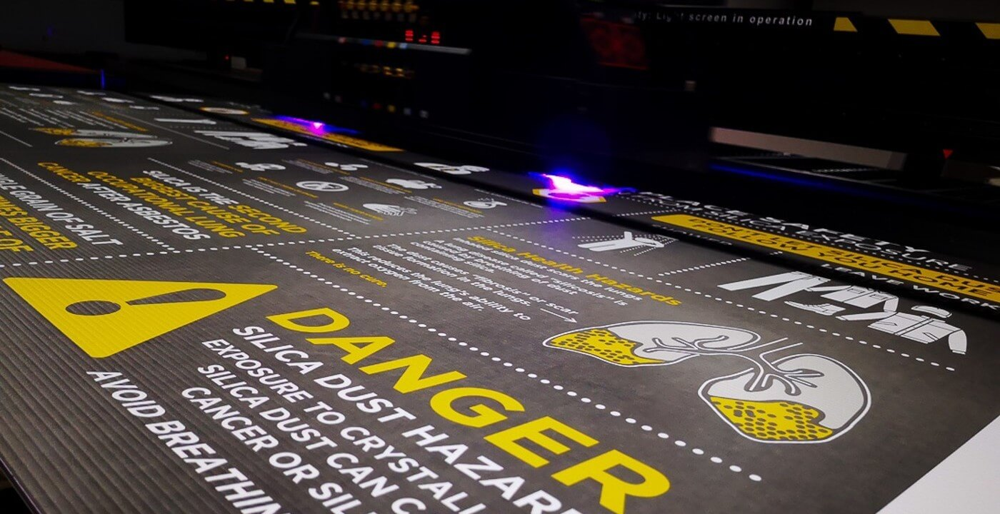 We can offer you a huge range of safety sign solutions straight from the shelf, or customised to suit your requirements.