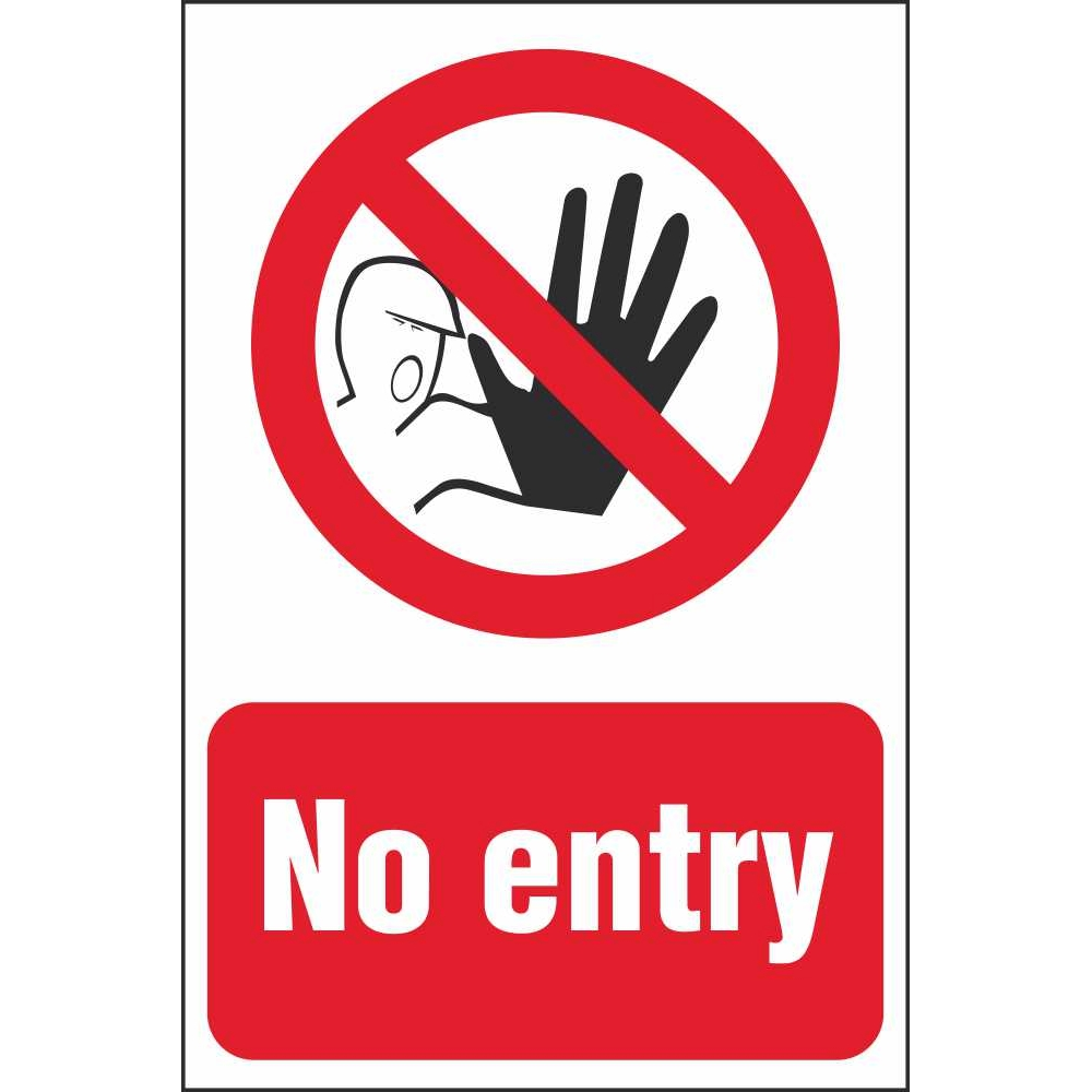 Hour Of Code >> No Entry Signs | Prohibitory Construction Safety Signs Ireland
