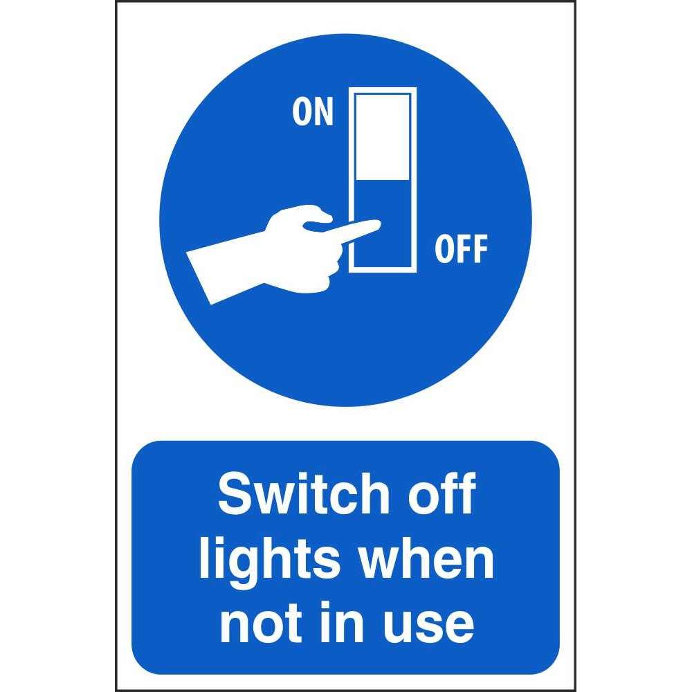 95  light switch off signs