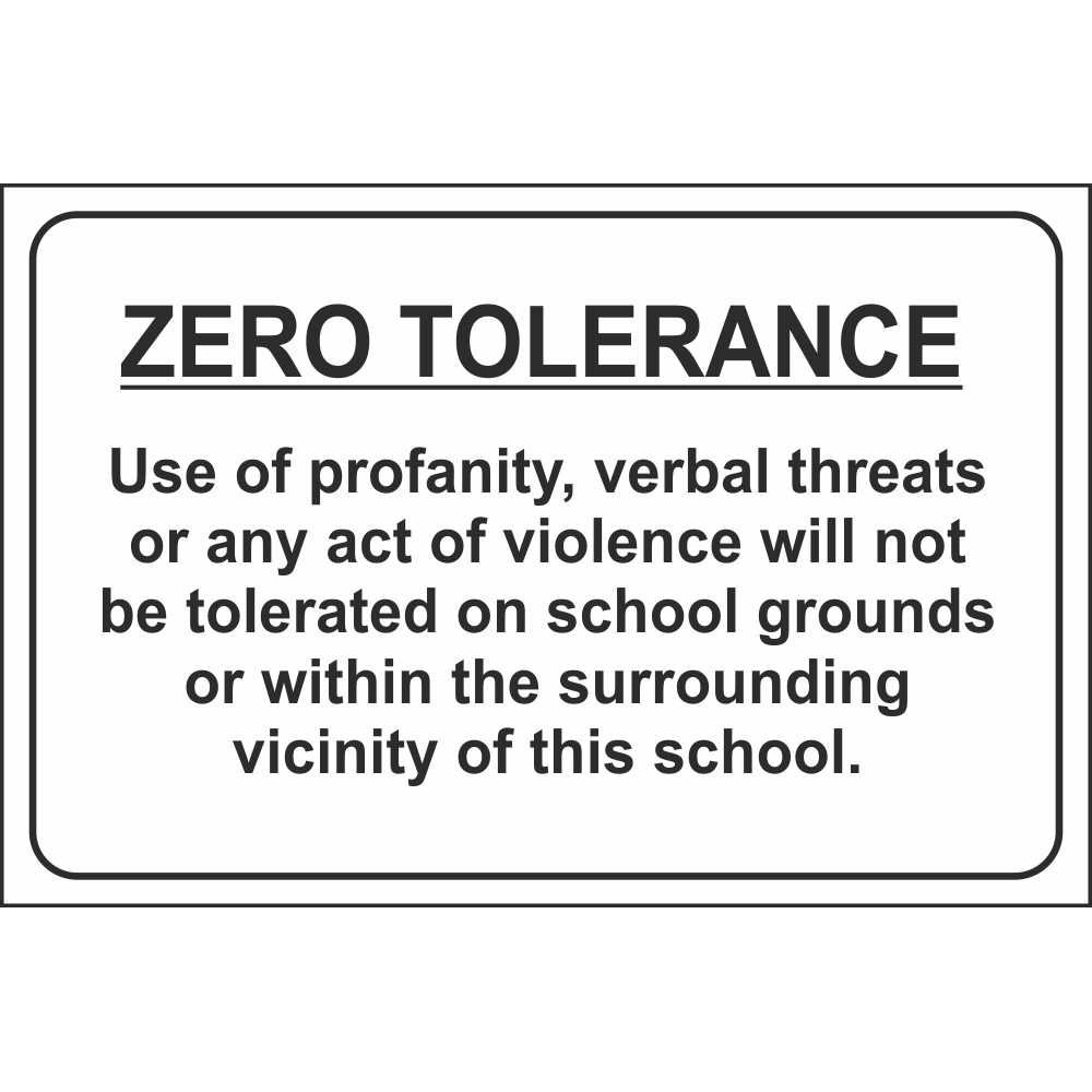 Zero Tolerance School Signs  Child Safety Notice Signs. Associate Degree Programs Mobile Web Designer. Cosmetic Surgery Advertising. Inalfa Roof Systems Inc Plumber In Chicago Il. College Education Online Credit Cards To Get. 5 Small Business Ideas With Big Potentials. San Pedro Mental Health Center. Erectile Disfunction Aids Eye Medical Clinic. Healthcare Consulting Groups Blog To Print