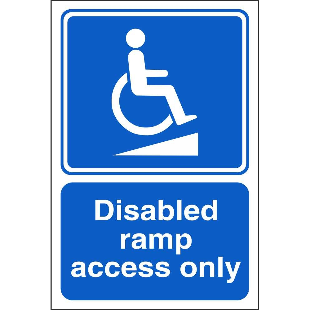 Disabled ramp access only signs disabled parking safety for How to find handicap accessible housing