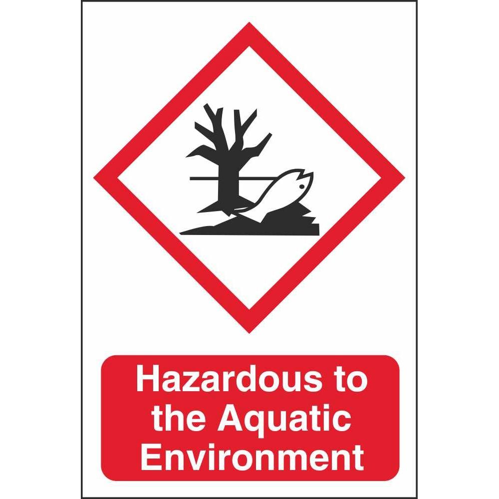 Hazardous To The Aquatic Environment Ghs Environmental Hazard Signs