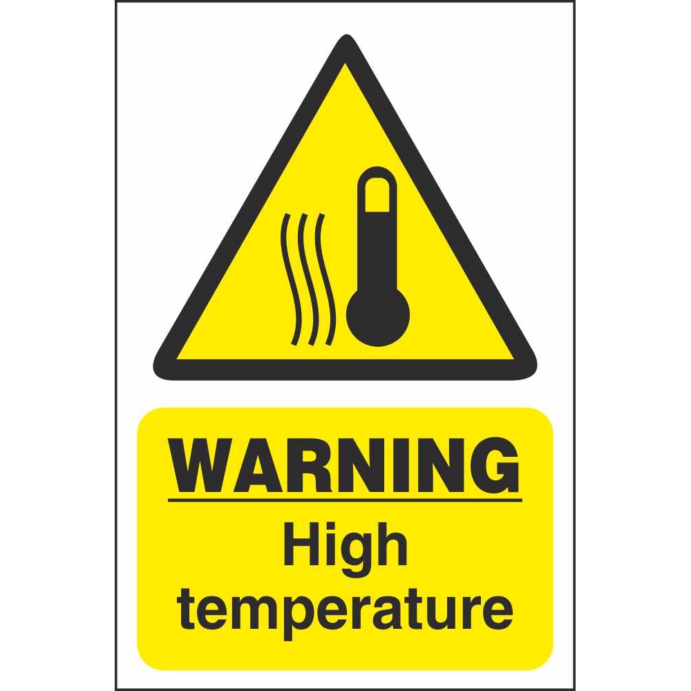 Commercial Kitchen Safety Signs