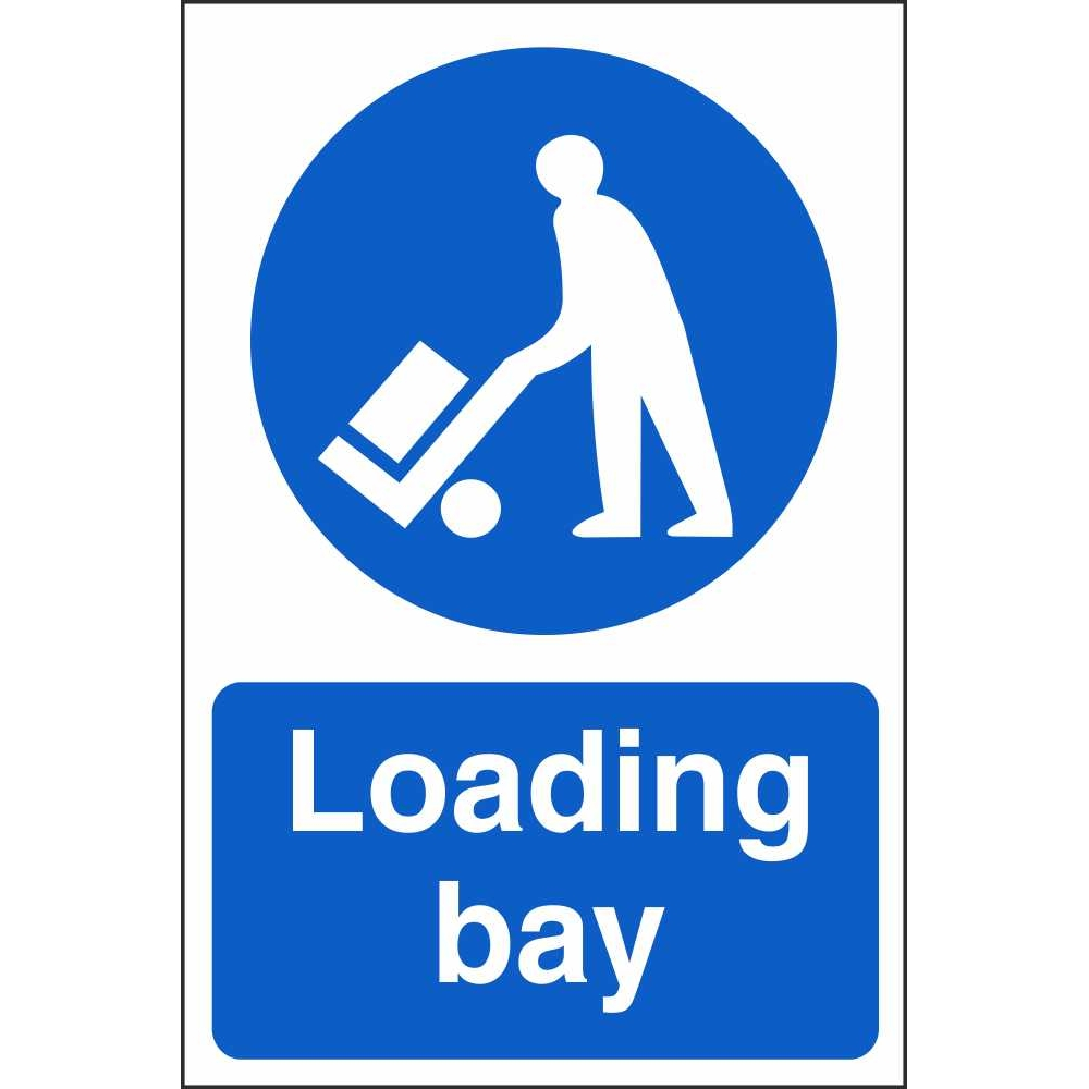 Loading Bay Signs Mandatory Workplace Safety Signs Ireland