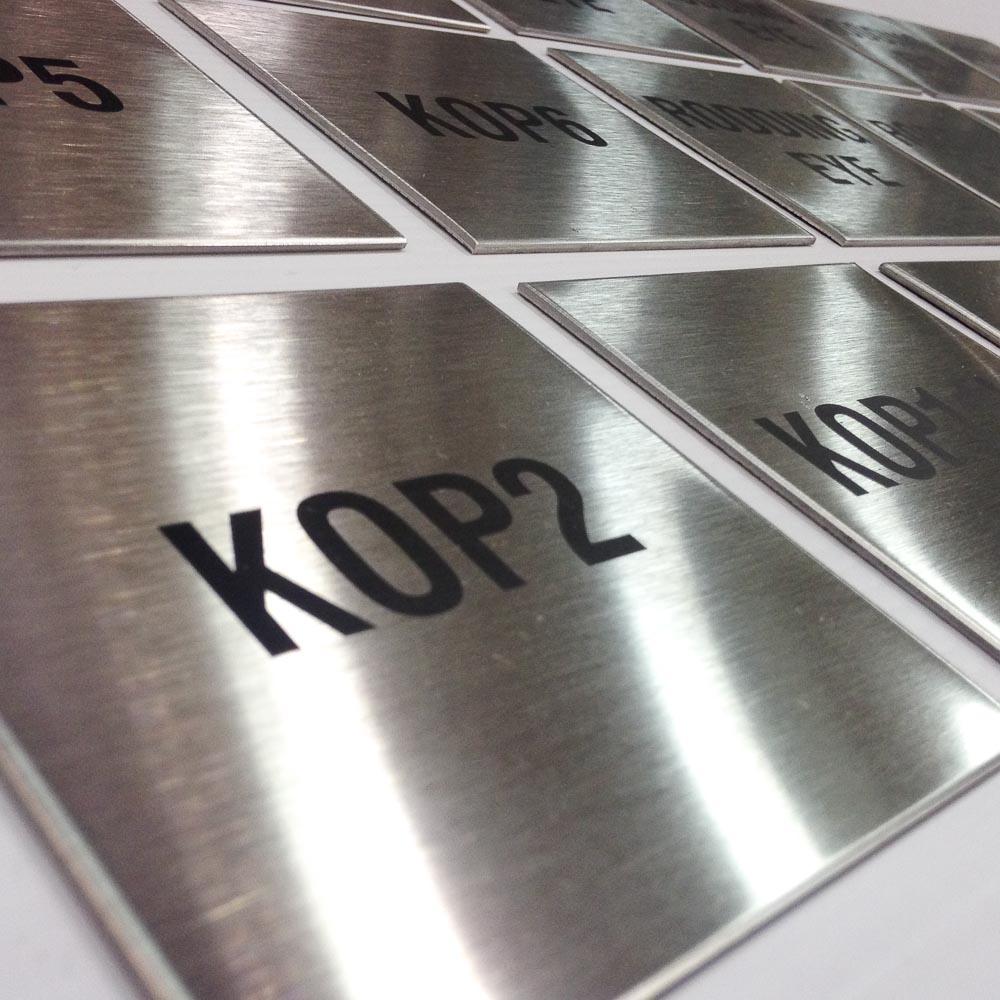 Metal Marking Steel Laser Engraving Metal Laser Etching