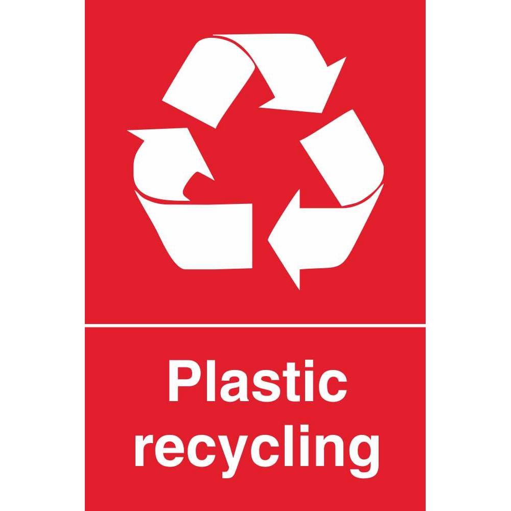 Recycling Signs Plastic Plastic Waste Recyclin...