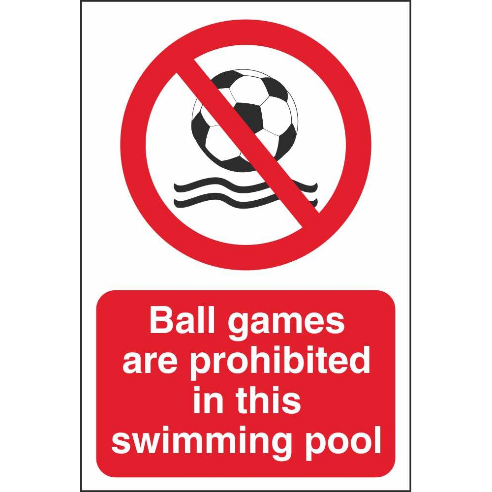 No Ball Games Signs | Prohibitory Water Safety Signs Ireland