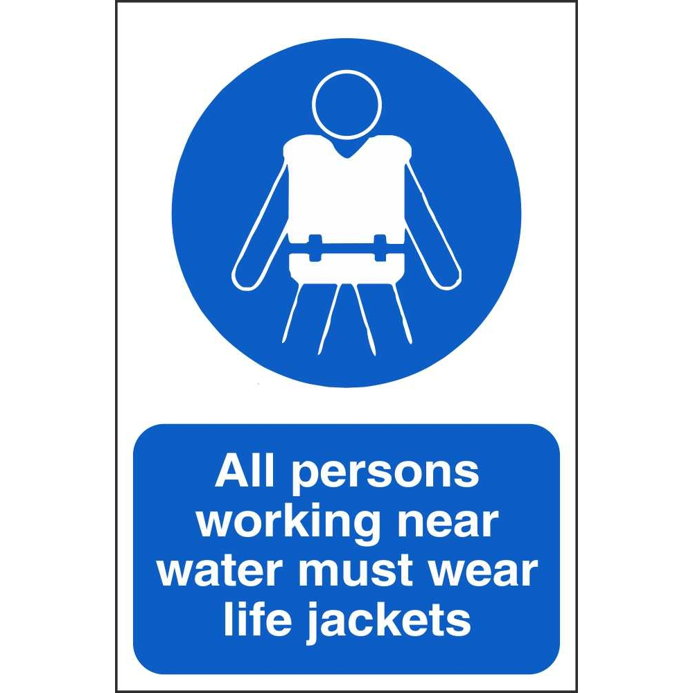 life jacket safety signs mandatory water safety signs ireland