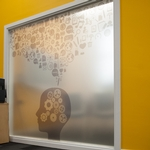 Window Frosted & Etched Effect Film