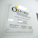 Office Wall Plaques