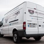 Die-Cut Vinyl Vehicle Graphics